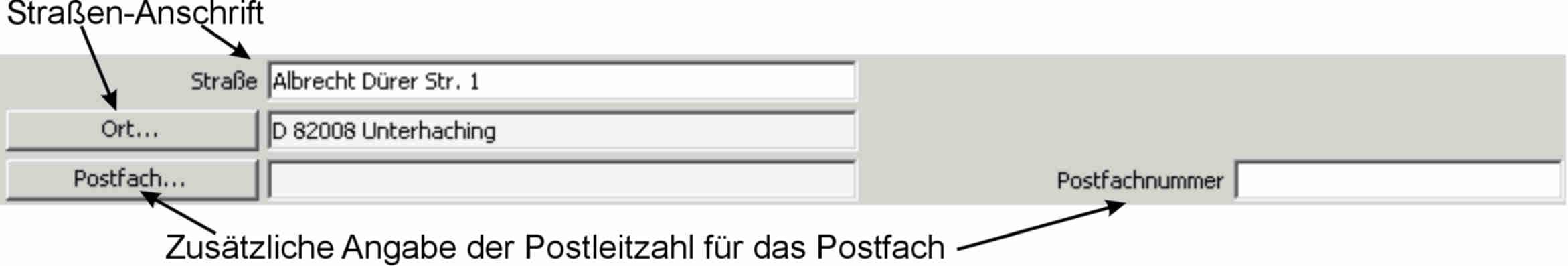 postfach postleitzahl  u2013 tracking support